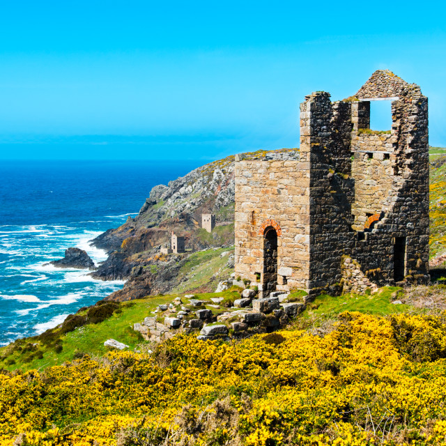 """Wheal Edward"" stock image"