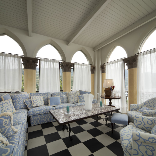 """Prestigious livingroom interior"" stock image"