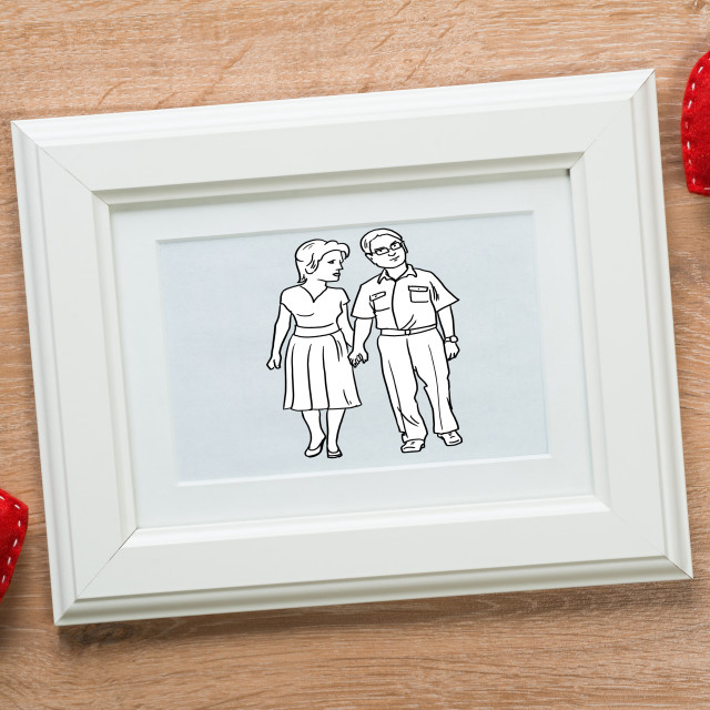 """""""The sweetest moments"""" stock image"""