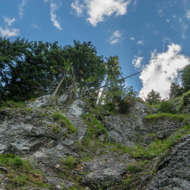 """Hiking at Schneeberg, Austria"" stock image"