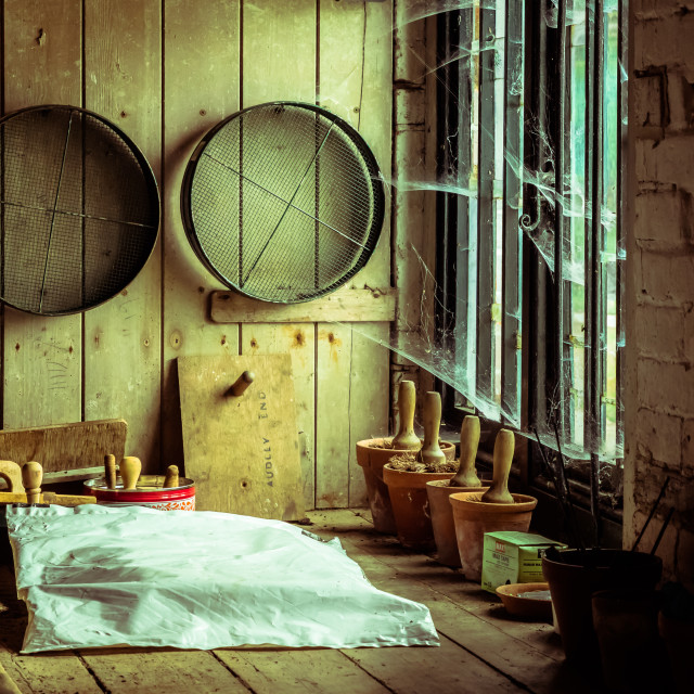 """The Potting Shed"" stock image"