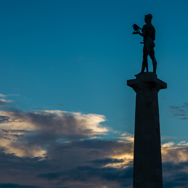 """Victory monument"" stock image"