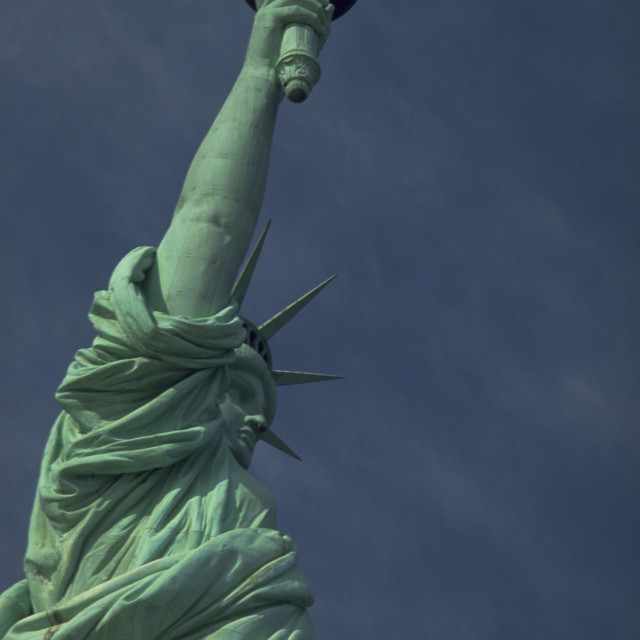 """Statue of Liberty, New York"" stock image"