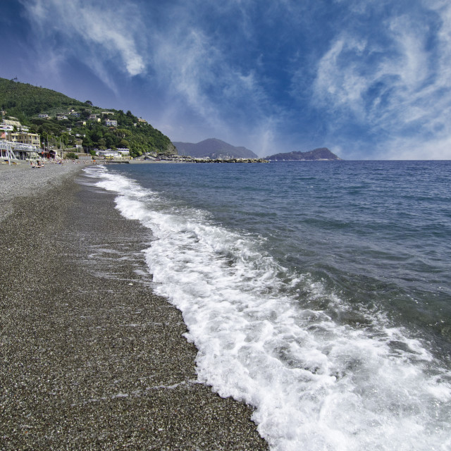 """Landscape of Santa Margherita Ligure"" stock image"