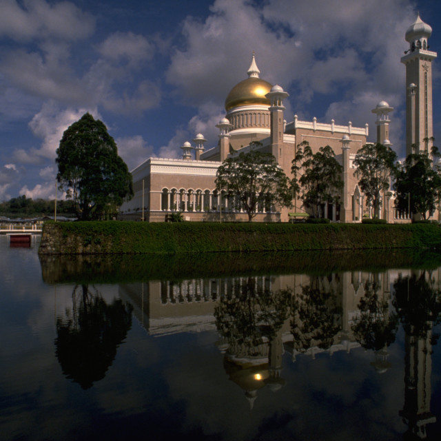 """Brunei Mosque"" stock image"