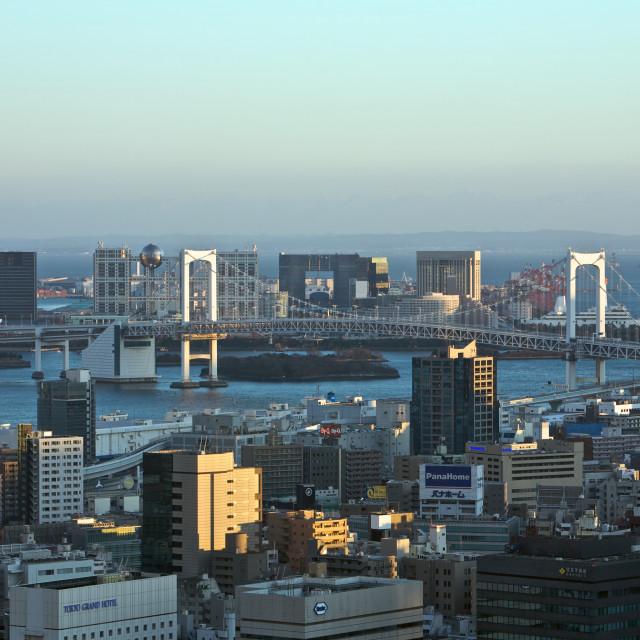 """Tokyo City"" stock image"