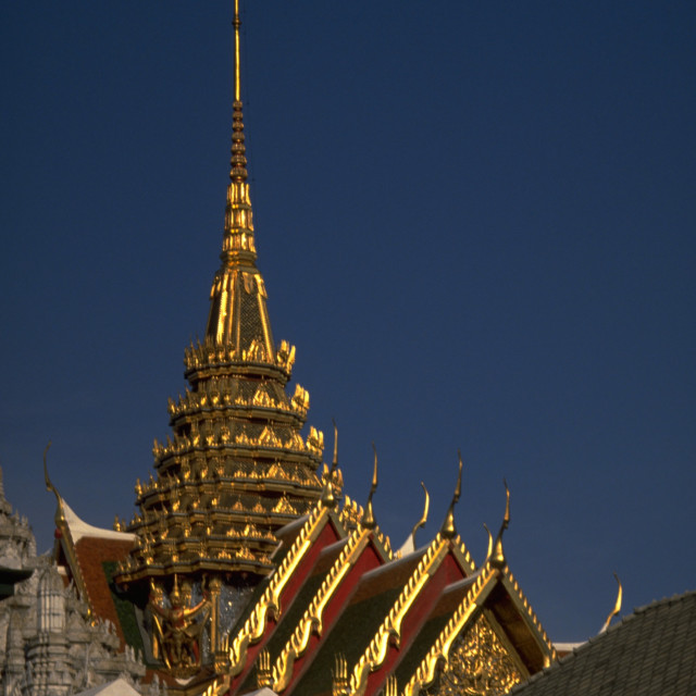 """Bangkok Grand Palace"" stock image"
