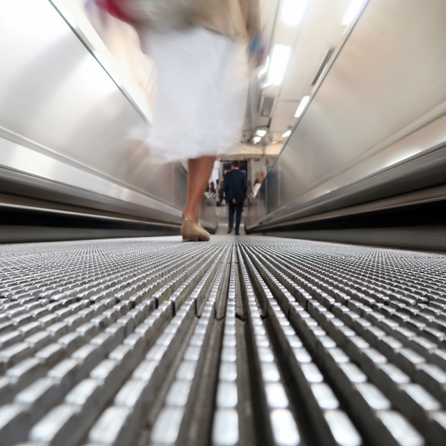 """Moving Walkway"" stock image"
