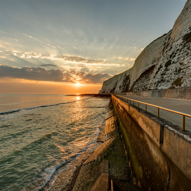 """September in Saltdean"" stock image"
