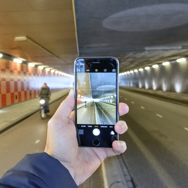 """""""Tunnel vision"""" stock image"""