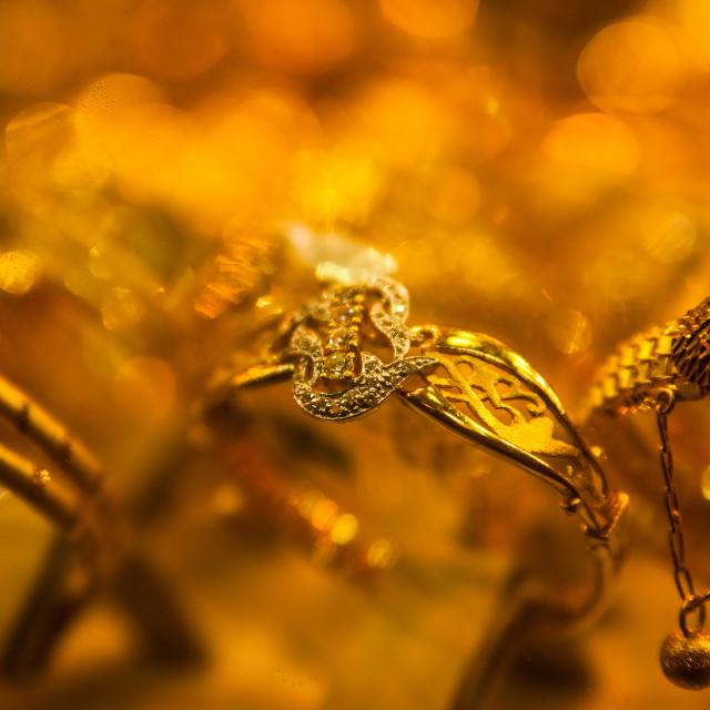 """""""Golden rings"""" stock image"""