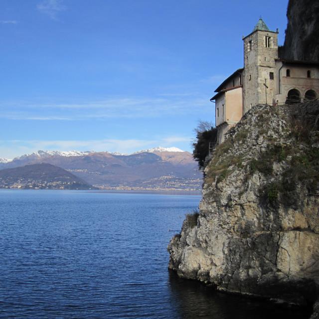 """""""Santa Caterina - Lago Maggiore"""" stock image"""