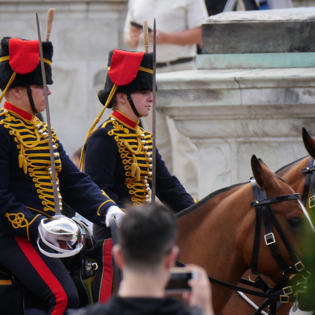 """Horse Guards"" stock image"