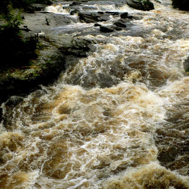 """Falls of Dochart, Killin, Scotland"" stock image"
