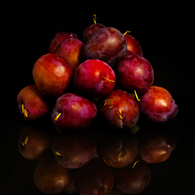 """Plums"" stock image"
