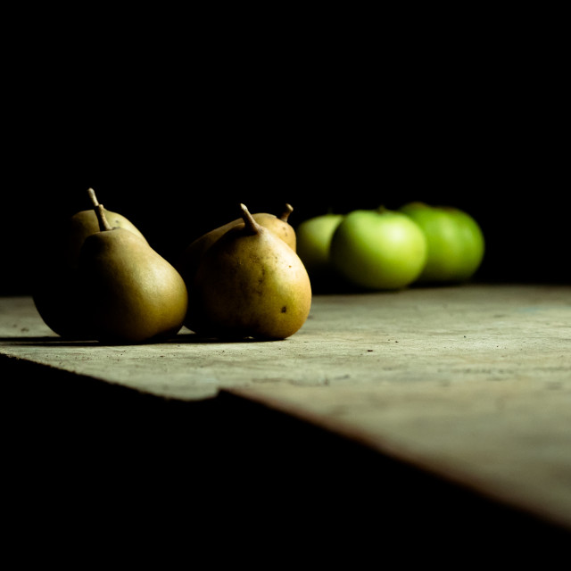 """Apples and Pears"" stock image"