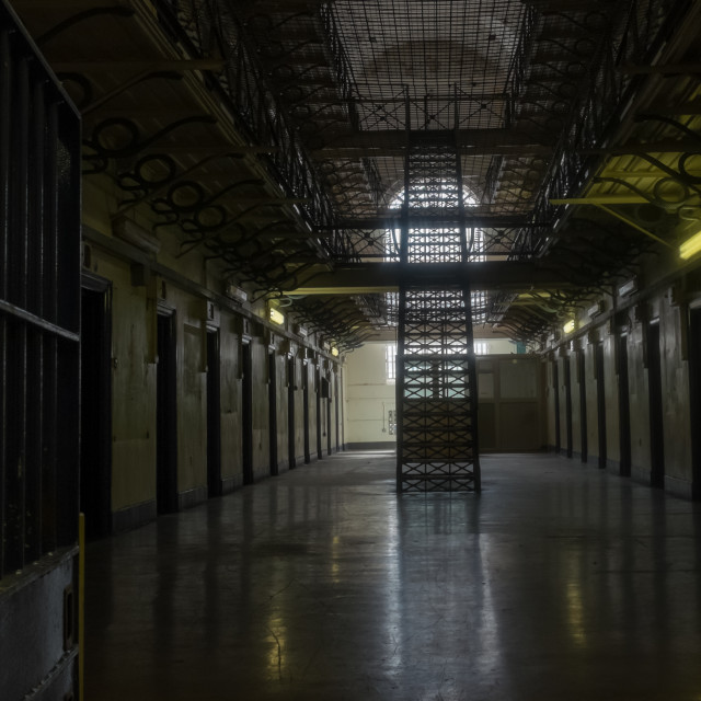 """Gloucester Prison"" stock image"