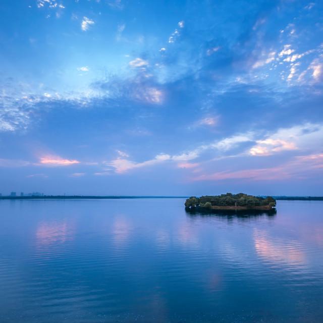 """Lonely island"" stock image"