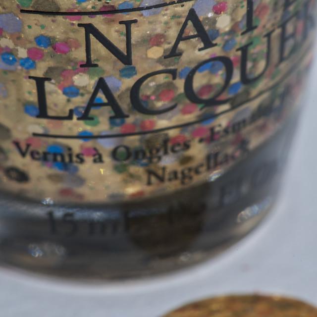 """""""OPI Nail Polish"""" stock image"""