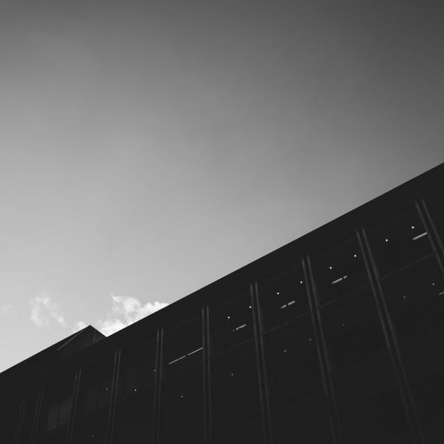 """Angled minimal architecture"" stock image"