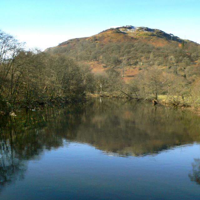 """River Dochart, Scotland"" stock image"