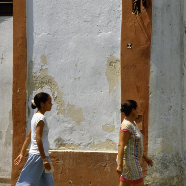 """""""Cuba Calle in Havana Cuba"""" stock image"""