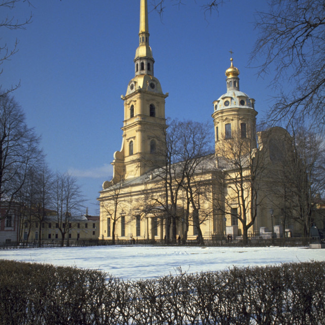 """Peter and Paul Cathedral"" stock image"