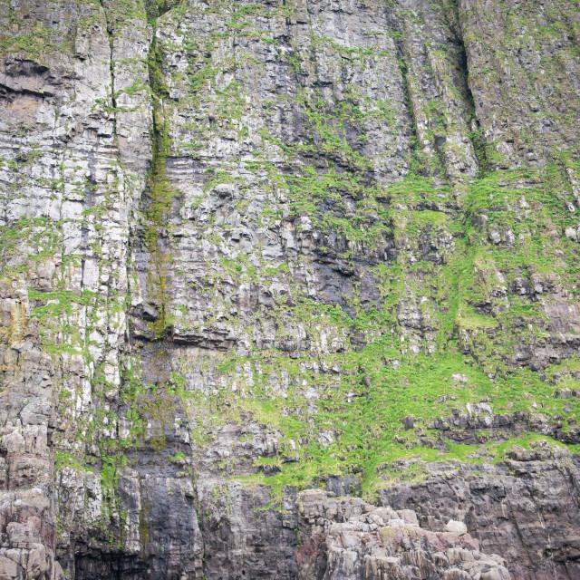 """Landscape on the Faroe Islands"" stock image"