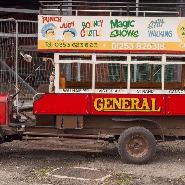 """Vintage cars on display at the Botany Bay canal festival, Chorley, Lancashire, uK"" stock image"