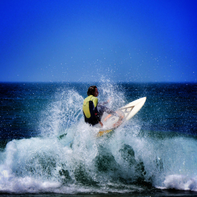 """Surf !"" stock image"