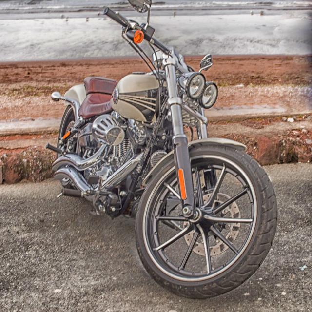 """Harley Motorcycle"" stock image"