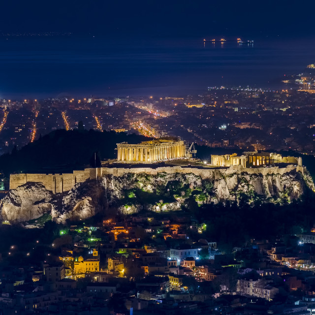 """The Parthenon of Athens"" stock image"