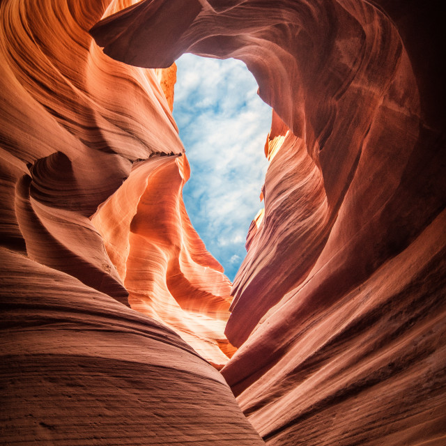 """Lower Antelope Canyon"" stock image"