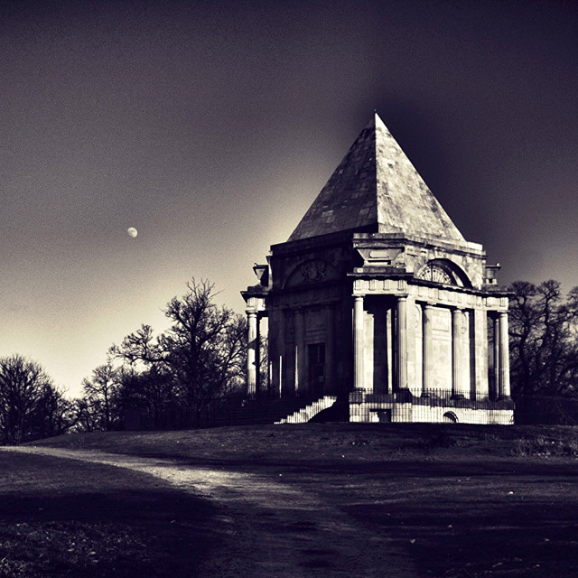 """Masonic mausoleum"" stock image"