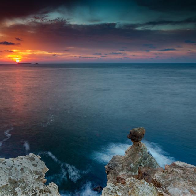 """""""Balearic Sunrise 3"""" stock image"""