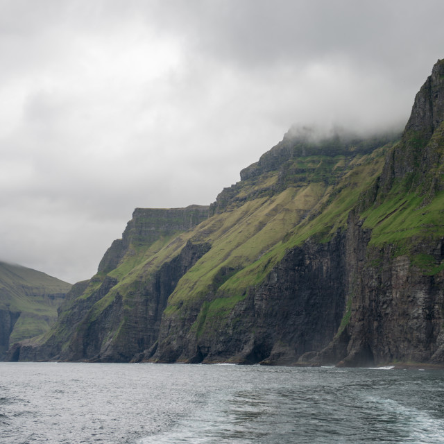 """Landscape on the Faroe Islands"" stock image"