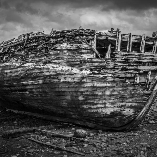 """""""Abandoned on Kerrara"""" stock image"""