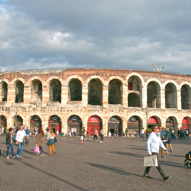 """Verona Arena"" stock image"