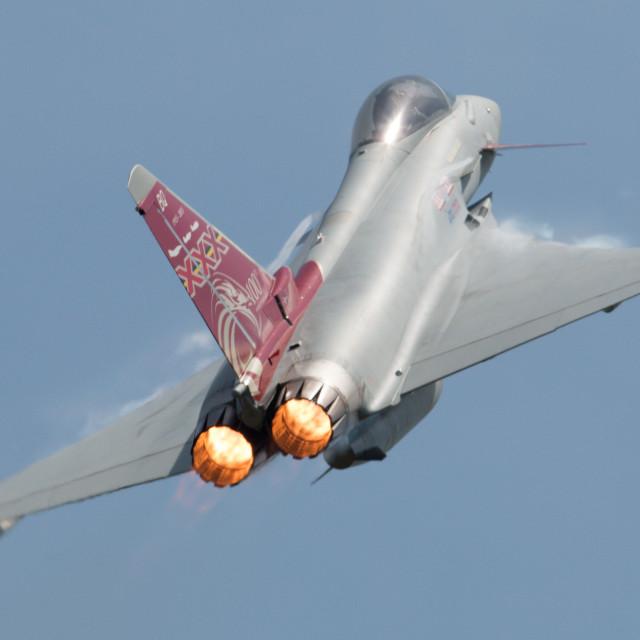 """00068 RAF Typhoon FGR4"" stock image"