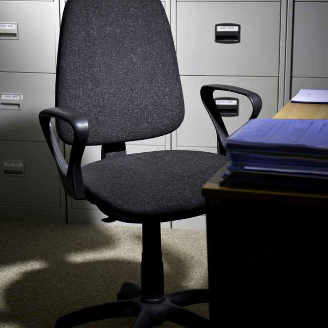 """""""Chair in office"""" stock image"""