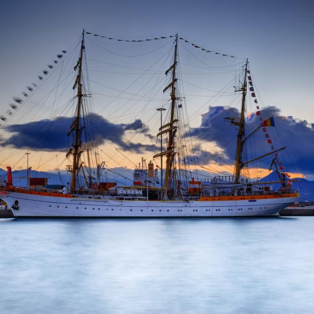 """Mircea ship"" stock image"
