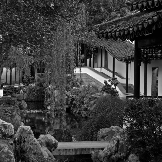 """Zhan Garden"" stock image"