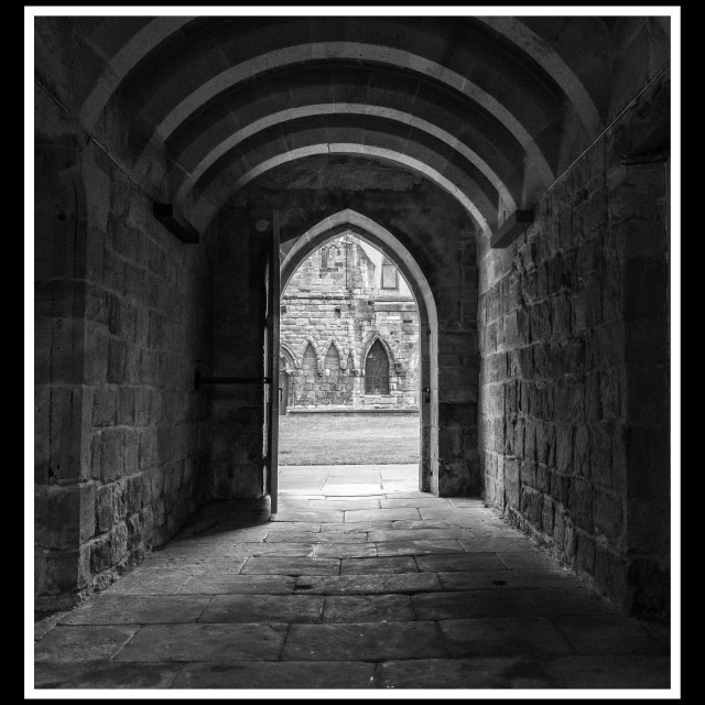 """Hexham Abbey"" stock image"