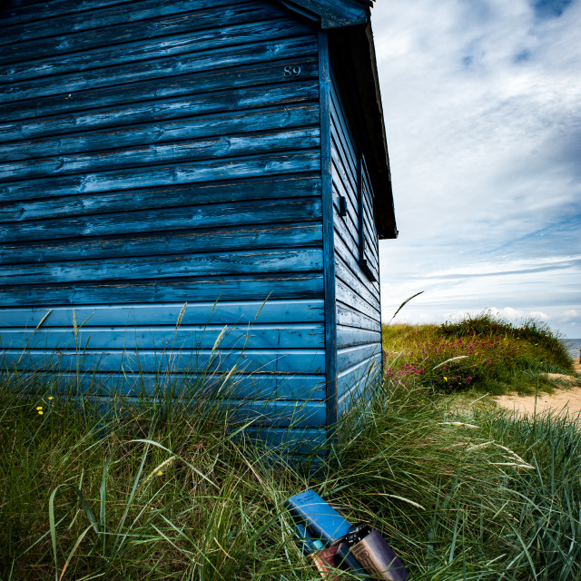 """Beach hut"" stock image"