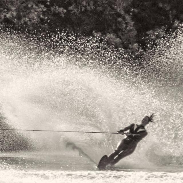 """Water Skier"" stock image"