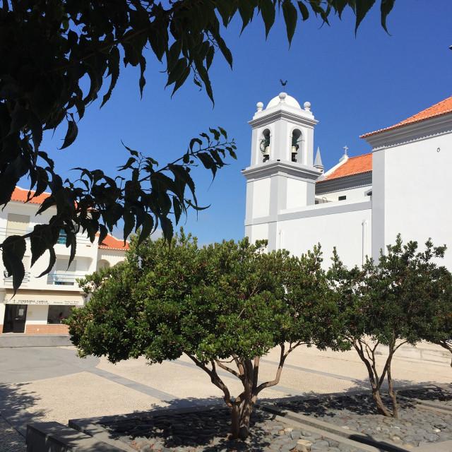 """Aljezur Church"" stock image"