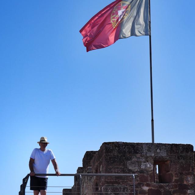 """Silves Castle"" stock image"