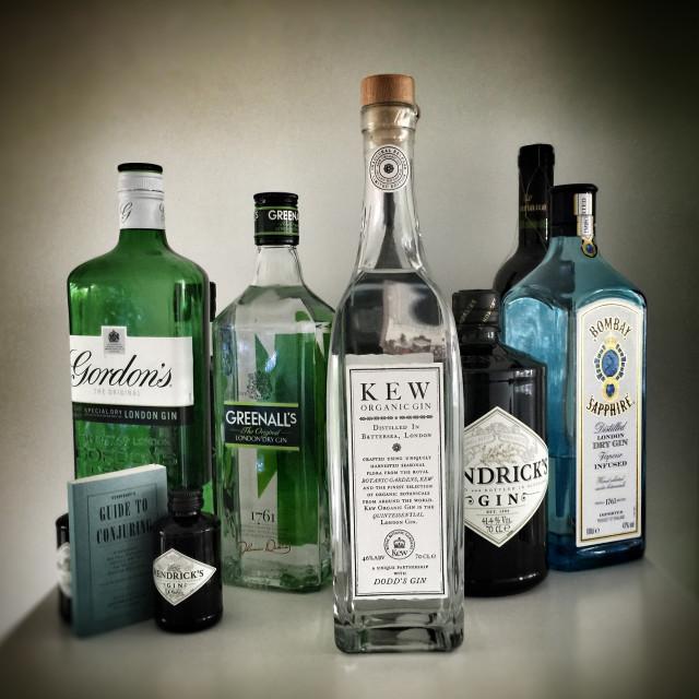 """Gin"" stock image"