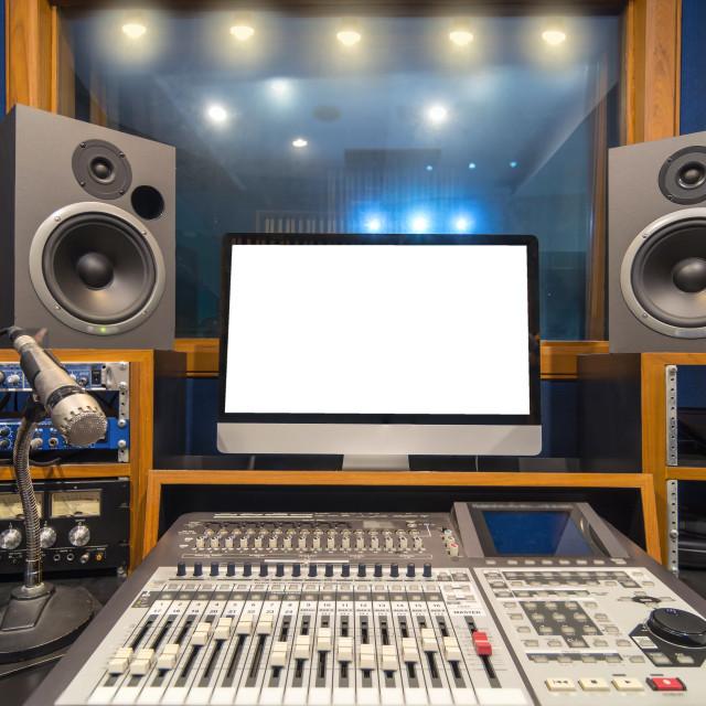 """music studio"" stock image"