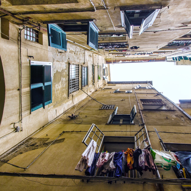 """Inside Genoa"" stock image"